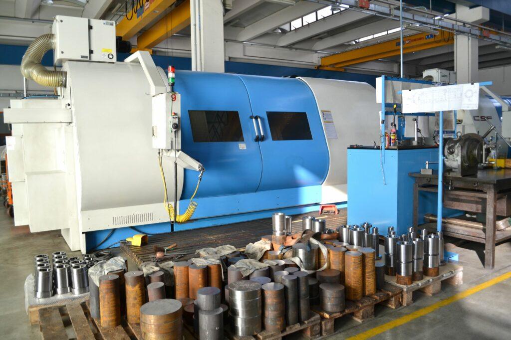 Tornio CNC mod. SB 350x2100