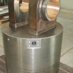 tornitura foratura e fresatura cilindri idraulici
